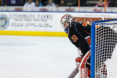 "Kansas City Mavericks vs. Ft. Wayne Komets, March 2, 2018, Silverstein Eye Centers Arena, Independence, Missouri.  Photo: © John Howe / Howe Creative Photography, all rights reserved 2018 • <a style=""font-size:0.8em;"" href=""http://www.flickr.com/photos/134016632@N02/40598288412/"" target=""_blank"">View on Flickr</a>"