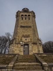 Bismarckturm Osterwieck 032018 02 (U. Heinze) Tags: olympus 1240mm harz winter gebäude architektur