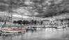 Port de la Rochelle (Didier Gozzo) Tags: noiretblanc nb bw ngc hdr boats bateaux poitoucharentes océan sea mer larochelle port
