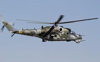 Czech AF - Mil Mi-35
