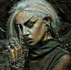 Cosmic Gothic Ladies (cirooduber) Tags: visualart awardtree digitalarttaiwan trollieexcellence ostagram deepdream gothic portrait
