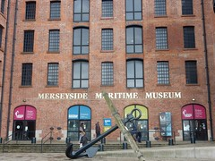 Liverpool Maritime Museum (deltrems) Tags: liverpool merseyside maritime museum albert maritimemuseum albertdock dock anchor