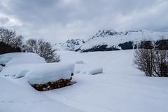 Obersaxen (oonaolivia) Tags: surselva brigelserhörner obersaxen schweiz switzerland graubünden grisons landscape landschaft berge mountains schnee snow walking hiking winter
