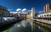 Bilbao - Vacanze 2017 (auredeso) Tags: bilbao spagna espana paesaggio fiume nikon d7100 tokina hdr tokina1116 nikond7100 2017 vacanze