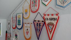 Fútbol (pedalinpitu) Tags: banderin futbol escudo ribadeo