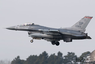 96-0083 United States Air Force General Dynamics F-16CM Fighting Falcon