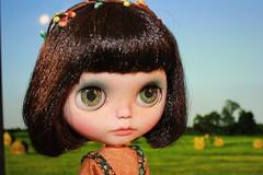Piper on the farm <3