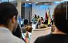 Culto da Manhã (Primeira Igreja Batista de Campo Grande) Tags: viviangil coroaisar apresentaçãodebebês libras angélicamiranda gisele penido flauta flautista bebês violino violinista regente regendo orando cumprimentando abraço aperto de mão pai e filha crianças piano pianista hanripinheiro