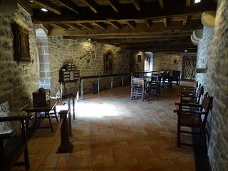 Sala de objetos antiguos Museo del Castillo de Javier Navarra