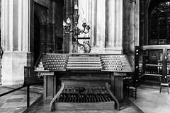 Has anyone seen Johann Sebastian ? (Daniel_Hache) Tags: organ eglisesainteustache keyboard paris clavier orgue îledefrance france fr