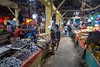 Ruteng Marketplace (0760) (Stefan Beckhusen) Tags: people market marketplace food goods building architecture shop sell marketstall crowd bazaar store explore lifestyle streetphotography scenery ruteng flores indonesia asia traffic color day shops business construction indoor narrow seafood