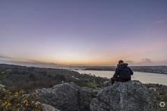 Vue sur Brest (lelargla) Tags: irix 15 mm f24 sunset voyage bretagne breizh paysages landscape finistère canon 6d mark ii brest plougastel daoulas rocher impératrice vue pont iroise