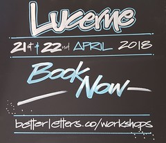 2018-04-21-Cheryl-McLean-Lucerne-1 (betterletters) Tags: betterletters workshops workshop advertising blackboard blackboards chalkboard chalkboards blackboardart cherylmclean lettering design layout illustration pictorial