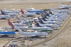 Untitled (Air France) Boeing 747-400; F-GITE@MHV;29.01.2018 (Aero Icarus) Tags: mojave mojaveairandspaceport california mhv plane aircraft flugzeug avion boeing747400 fgite jumbojet airfrance