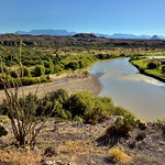 The Rio Grande Flows on By... (Big Bend National Park) thumbnail
