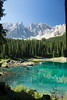 Lago di Carezza ((maxx)) Tags: lake nature sky alps mountain braies carezza trentino alto adige