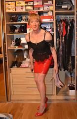 DSC_0021r (magda-liebe) Tags: travesti tgirl stockings crossdresser highheels shoes vinyl french