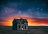 Marquette Magic (Darren White Photography) Tags: aban abandoned kansas astrophotographer nightphotography starryskies oldhome sigmalens darrenwhite darrenwhitephotography