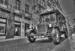 vintage car (karlitoz ricardoz) Tags: ngp national geographic nex sony alpha 16mm vintage car hdr black white mirrorless nex6 a6000