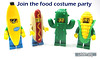 Join the food costume party (WhiteFang (Eurobricks)) Tags: lego collectable minifigures series city town space castle medieval ancient god myth minifig distribution ninja history cmfs sports hobby medical animal pet occupation costume pirates maiden batman licensed dance disco service food hospital child children knights battle farm hero paris sparta historic brick kingdom party birthday fantasy dragon fabuland circus