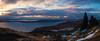 Old Man of Storr (.mushi_king) Tags: skye scotland storr oldmanofstorr panorama exposure blending sunrise dawn uk britain landscape lightroom nikcolorefex