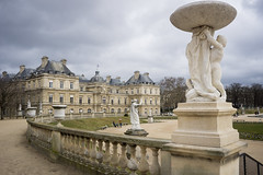 Luxembourg (benoitgx) Tags: paris jardin du luxembourg palais bourbon sénat statue alpha6000 sony