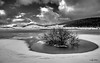 Montelago - Sefro (MC) (Luigi Alesi) Tags: 201803marzo montelago italia italy marche macerata sefro paesaggio landscape scenery inverno winter neve snow bianco e nero black white bn bw cielo sky nuvole clouds natura nature nikon d750 raw