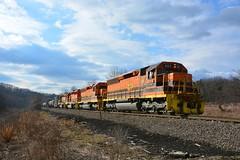 B&P 452, 3064, 3321 & 3323. East Butler, PA (bobchesarek) Tags: bprr bp buffalopittsburgh clouds emd sd452 btri
