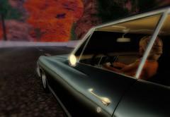 Impala (Carla Putnam) Tags: woman car impala driving carart