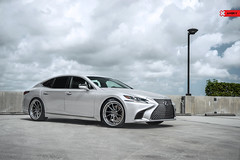 "ANRKY Wheels - Lexus LS500 on 22"" AN33 (anrkywheels) Tags: anrkywheels anrky an33 lexus lex ls500 lc500 luxury lexususa pirelli forged wheels adv1 madeinusa vossen lexusboys stance fitment forgiato driven performance saloon big body"