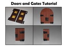 Doors and Gates Tutorial (jsnyder002) Tags: lego guide tutorial technique gates doors brickbuilt