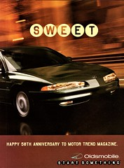 1999 Oldsmobile Intrigue (aldenjewell) Tags: 1999 oldsmobile intrigue ad motor trend 50th anniversary