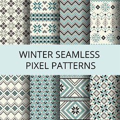 free vector winter seamless winter patterns collection (cgvector) Tags: art background card christmas classic color decor decorative deer design element embroidery fabric fair fashion folk geometric graphic holiday homemade illustration isle knitting national new nordic ornament ornate pattern pixel plaid reindeer repeat seamless set snowflake star swatch teal textile texture tile traditional tree trendy vector wallpaper warm winter year