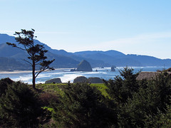 Ecola State Park at Pacific Coast in OR (Landscapes in The West) Tags: pacificcoast pacificocean pacificnorthwest oregon ocean beach lowtide cannonbeach indianbeach ecolastatepark