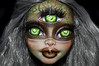 Moss (saijanide) Tags: monster high doll tall large big 17 inch custom mh repaint faceup ooak forest woods green goddess three eye cyclops gooliope jellington