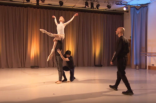 Watch: Two new ballets in rehearsal with Wayne McGregor and Christopher Wheeldon