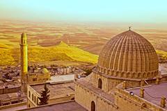 Zinciriye Medresesi'nden  Ulu Cami (Talip Çetin) Tags: mardin center city town landscape zinciriye medresesi ulu cami camii minaret madrasah mosque grand güneydoğu anadolu bölgesi kalker taşı evler mimari mezopotamya ovası müzesi artuklular kebir artuklu üniversitesi kalesi kasımiye akkoyunlular deyrulzafaran manastırı monastery süryani ortodoks syriac orthodox mor benham kırklar kilisesi church metropolit metropolitan turkey türkiye turkish turquie türkei turquía トルコ turchia турция 土耳其 تركيا टर्की индейка індичка τουρκία 터키 anatolia southeast area mesopotamia