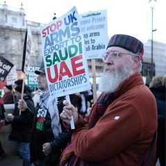 Stop UK Arms Exports to Saudi UAE Dictatorships ! (alisdare1) Tags: mohammadbinsalman binsalman saudiarabia armsexports theresamay downingstreet london protest demo demonstration rally warcrimes yemenwar handsoffyemen armssales saudiwar butcherofyemen saudiprince uk ksa saudi dictatorship whitehall stoparmingsaudiarabia humanrights humanitariancrisis yemenfamine saudibombing bombingofyemen crownprince fujifilm fuji fujifilmxpro2 xf16mmf14 notwelcome no10 primeminister unitedkingdom creativecommons mbs