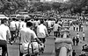 China 1985: After Work Rush Hour (gerard eder) Tags: world travel reise viajes asia eastasia china guangzhou guangdong canton bicycle traffic rushhour blackandwhite blackwhite blancoynegro bw sw retro outdoor städte street stadtlandschaft streetlife city ciudades cityscape cityview urban urbanlife urbanview