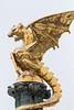 The Dragon of 's-Hertogenbosch with a bit of snow. (Photography by Martijn Aalbers) Tags: dragon draak statue standbeeld art kunst shertogenbosch den bosch 073 city stad centre centrum thenetherlands nederland dutch nederlands canoneos77d ef70200mmf4lisusm wwwgevoeligeplatennl