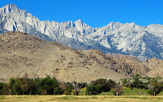 Mt Whiteney in the Sierra Nevada, Lone Pine, CA 2016