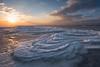 Natural Fantasy (Dani℮l) Tags: schiermonnikoog waddeneiland friesland ijs ice nature winter sky lucht sunset nederland landschap netherlands groningen noordzee strand beach north sea sun natuur shape curve art sand zand