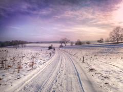 winterwonderland (Schneeglöckchen-Photographie) Tags: winter wonderland sunset village christes paradise alone