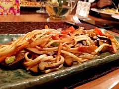 "Gluttony you think? No! I'm just a ""food-explorer"". :-) (rashmit75) Tags: japanese cuisine noodles udon food"