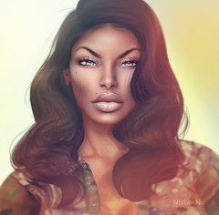 nev_2018 (Neveah Niu /The ICONIC Owner) Tags: skin fair secondlife skinnery found iconic neveahniu hair