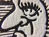 Detail (Don Moyer) Tags: kickstarter drawing print letterpress witch face moyer donmoyer brushpen