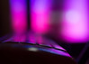 on the edge (Cosimo Matteini) Tags: cosimomatteini ep5 olympus london pen m43 mzuiko45mmf18 moorgate busstop busshelter seat night evening dark light pink ontheedge