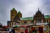 Münster (März 2018) (Günter Hentschel) Tags: münster stadt city pinkus wochenmarkt dom kirche deutschland germany germania alemania allemagne europa nrw nikon nikond5500 d5500 hentschel flickr märz 2018 märz2018 städtetour himmel turm personen gebäude