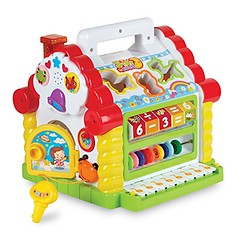 Colorful Musical Baby Fun House – Multi Game Educational Kids Toy with Shape Sorters, Music, Animal and Geometric Blocks, Piano Keys and Counting Math Beads – by ToyThrill (saidkam29) Tags: animal baby beads blocks colorful counting educational game geometric house keys kids math multi music musical piano shape sorters toythrill