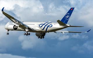 Airbus A350 Vietnam Airlines Skyteam